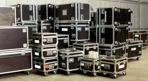 移动的容器 免版税库存照片