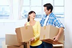 移动的房子 免版税图库摄影