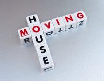 移动的房子 免版税库存图片