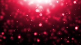 移动的红色微粒 影视素材