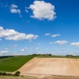 滚动的苏克塞斯乡下的风景看法 库存照片