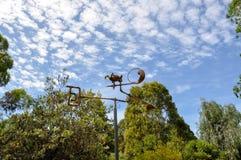 移动的雕塑:Amaze'n马格丽特里弗 免版税库存图片