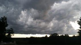 滚动的雷暴  库存图片