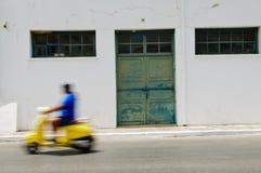 移动的滑行车 图库摄影