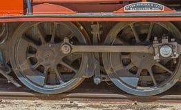 活动红色轮子 免版税库存图片