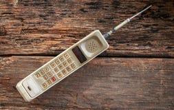 移动老电话 图库摄影