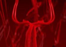 动脉血液 皇族释放例证