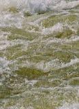 动荡水 免版税图库摄影