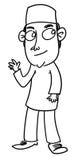动画片人 免版税图库摄影