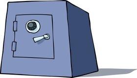 动画片保险柜 免版税库存照片