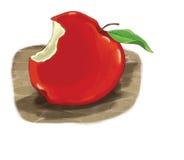 动画片元素-苹果 免版税库存图片