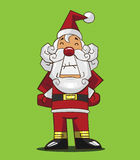 动画片圣诞老人 免版税图库摄影