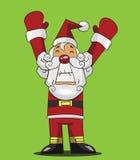 动画片圣诞老人 免版税库存图片