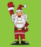动画片圣诞老人 免版税库存照片