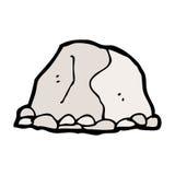 动画片大岩石 库存例证
