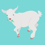 动画片山羊 免版税库存照片
