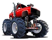 动画片巨型卡车 免版税库存照片