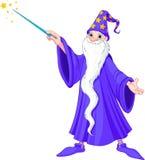 动画片巫术师 免版税库存照片