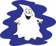 动画片微笑的鬼魂 免版税库存图片
