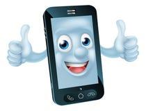 动画片手机字符 免版税库存图片