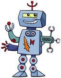 动画片机器人幻想字符 免版税库存照片
