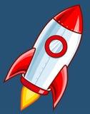 动画片火箭 图库摄影