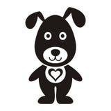 动画片狗 免版税库存图片