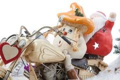 动画片蘑菇送货业务 图库摄影