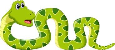 动画片蛇 皇族释放例证