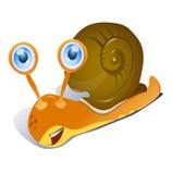 动画片蜗牛 免版税库存图片