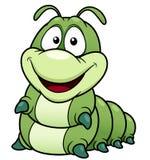 动画片蠕虫 库存图片