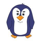 动画片逗人喜爱的企鹅 免版税图库摄影