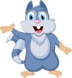 动画片逗人喜爱的灰鼠 库存照片