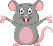 动画片逗人喜爱的鼠标 库存照片