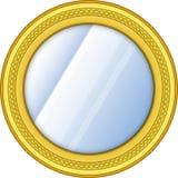 动画片镜子 免版税图库摄影