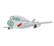 动画片飞机 库存图片