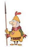 动画片骑士的例证 免版税库存照片