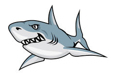 动画片鲨鱼 库存照片