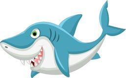 动画片鲨鱼 免版税库存照片