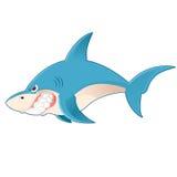 动画片鲨鱼 免版税库存图片