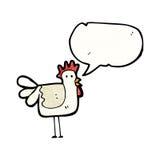 动画片鸡 库存照片