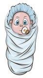动画片婴孩 免版税图库摄影