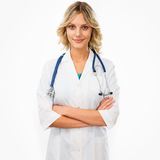动画片医生女性版本 库存照片