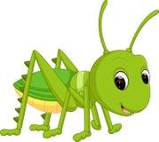 动画片滑稽的蟋蟀 皇族释放例证