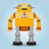 经典机器人2 免版税库存图片