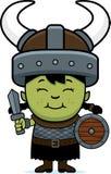 动画片Orc儿童剑 免版税库存照片