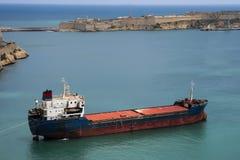 活动货物汉堡端口船 库存图片