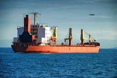 活动货物汉堡端口船 图库摄影