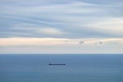 活动货物汉堡端口船 免版税库存照片