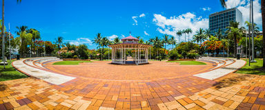 努美阿,新喀里多尼亚看法  免版税图库摄影